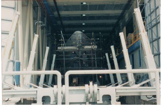 carrello di alaggio idraulico
